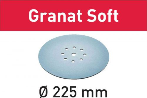 Шлифовальные круги STF D225 P320 GR S/25 Granat Soft 204227