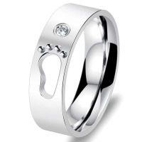 Мужское кольцо Лапка