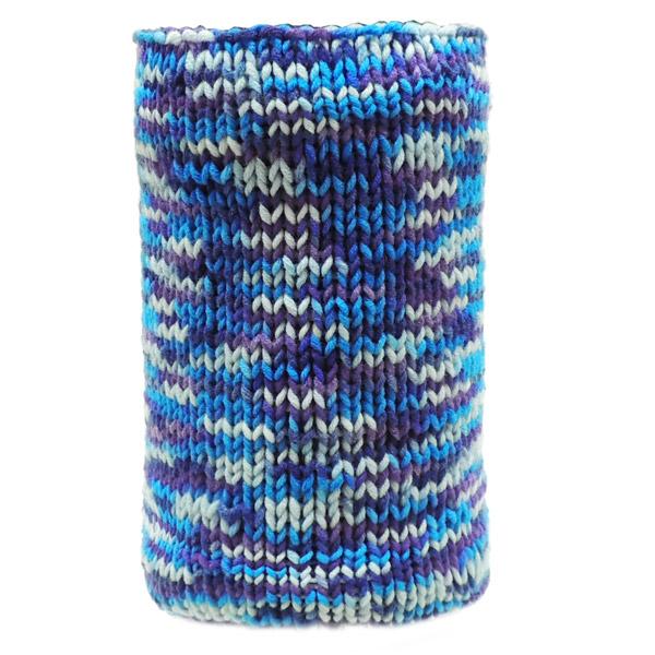 Вязаный шарф - Blue mix