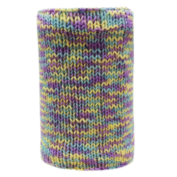 Вязаный шарф - Coral mix