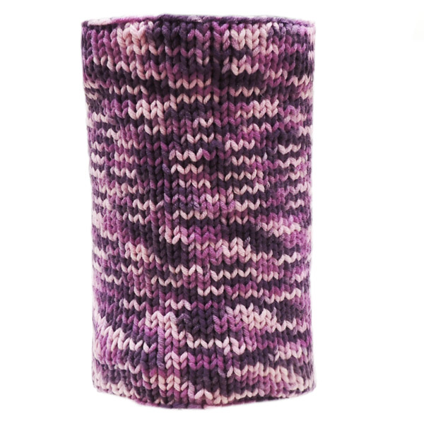 Вязаный шарф - Magenta mix