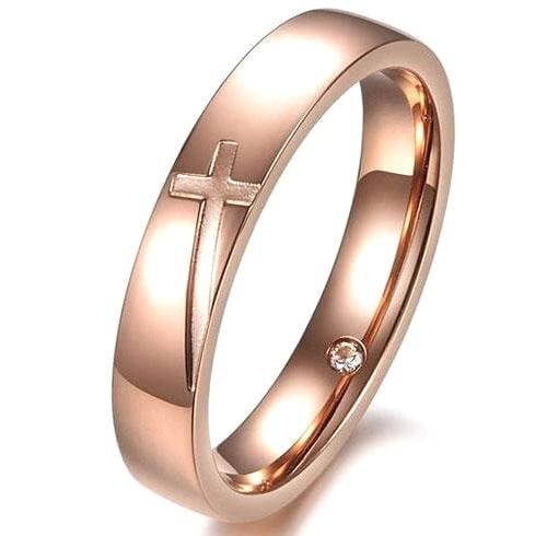 Женское венчальное кольцо