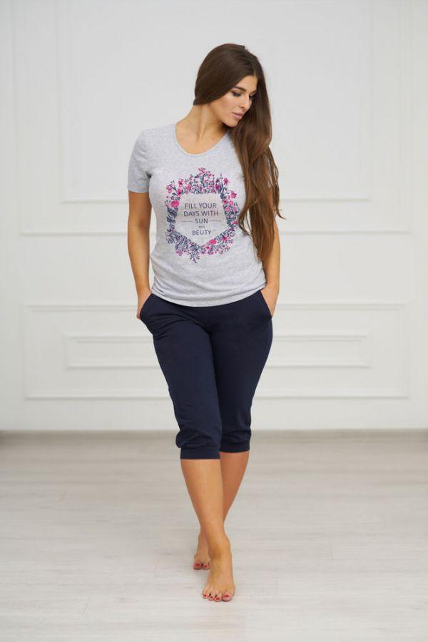 Костюм арт.0572 (футболка и бриджи)