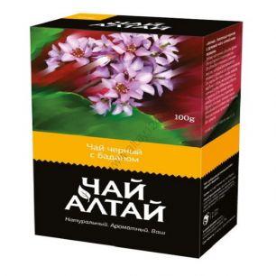 «Чай Алтай» черный с баданом, 100 гр