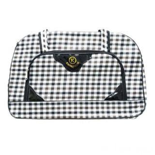 Дорожная сумка Саквояж, 52х19х33 см, Цвет узора: Коричневый