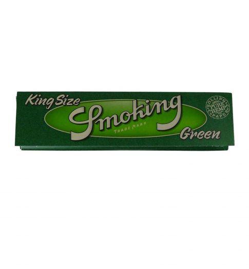 Сигаретная бумага Smokin KS Green