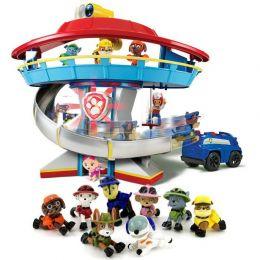 Игровой набор Игрушек Офис спасателей и команда из 8 щенков (Игрушки, Щенячий патруль)