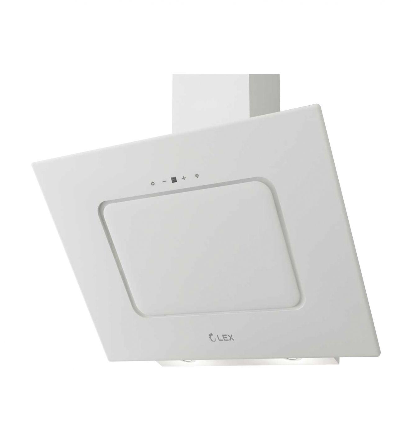 Каминная вытяжка LEX Luna 600 White (CHAO000206)