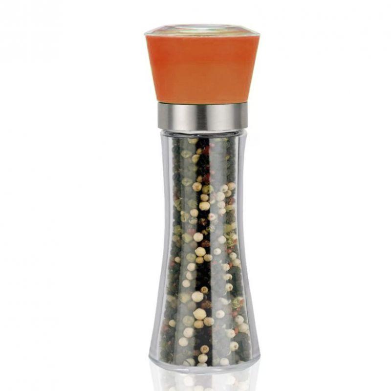 Стеклянная Мельница Для Специй, 19х6.5 См, Цвет Оранжевый