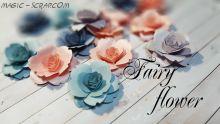 Бумажные розы штучно