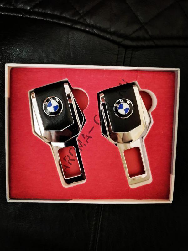Заглушка для ремня безопасности с логотипом BMW ( комплект)