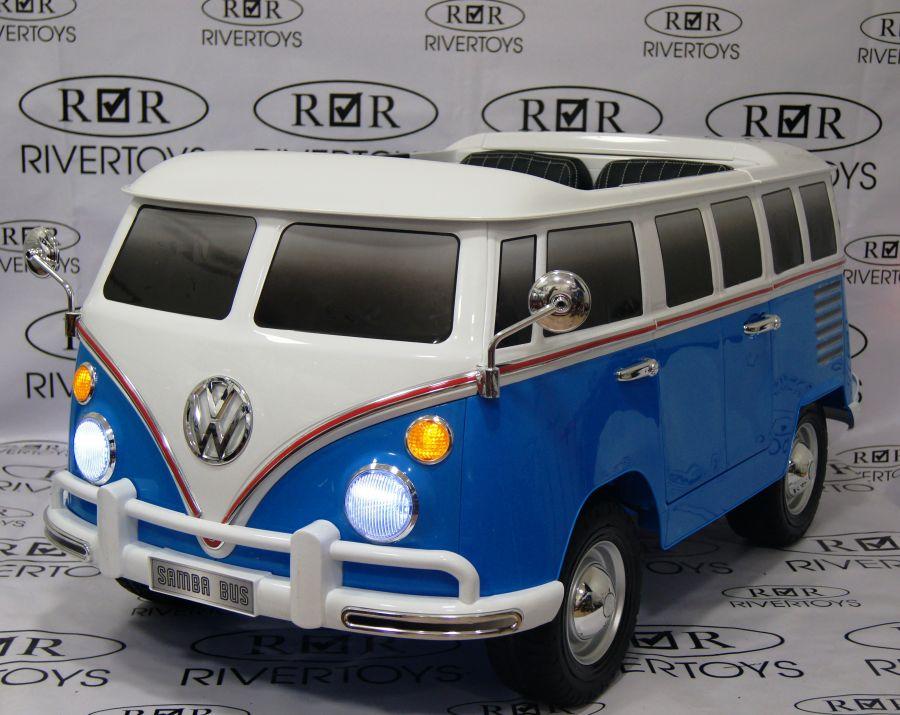 Детский электромобиль Volkswagen T1