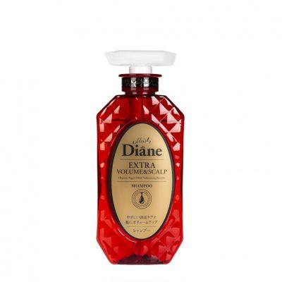 Moist Diane Extra Volume & Scalp Шампунь кератиновый без силиконона и сульфатов с аргановым маслом 450 мл