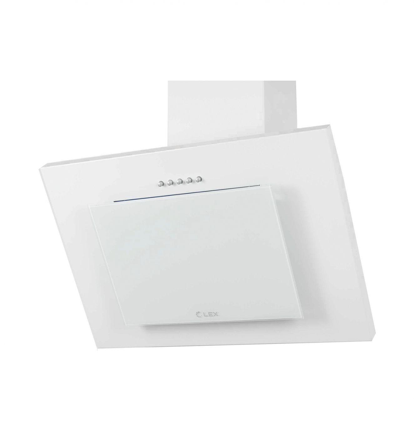 Каминная вытяжка LEX Mini 600 white (PLMA000073)