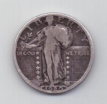 1/4 доллара 1929 года США