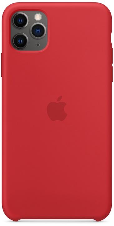 Apple Silicone для iPhone 11 Pro Max (красный)