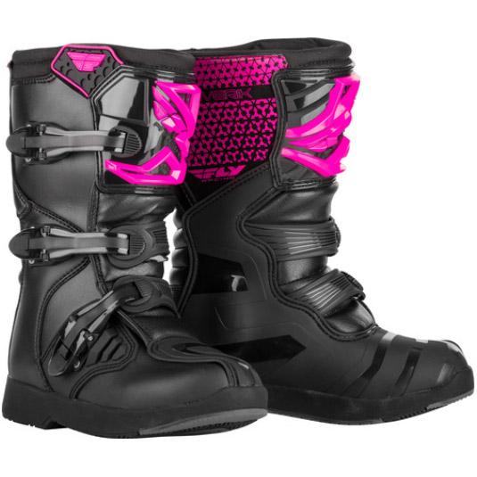 Fly Racing - Maverik MX Youth Pink/Black мотоботы подростковые, розово-черные