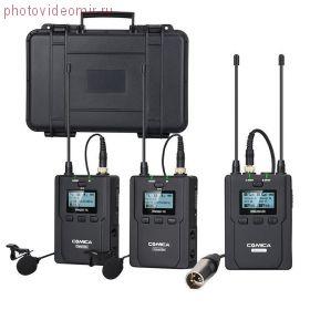 Радиосистема COMICA WM200A UHF 2 трансмиттера + 1 ресивер