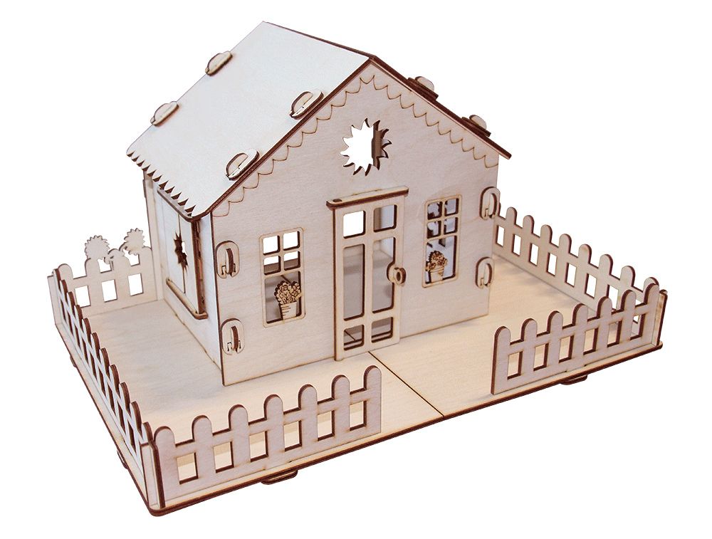 """Кукольный домик  """"Дачный домик у бабушки"""""""