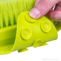 Щётка для ног на присоске Foot Brush, Зелёный