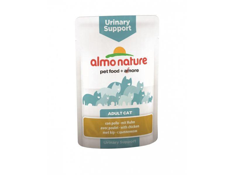 Almo Nature Паучи с курицей для профилактики мочекаменной болезни у кошек (Functional - Urinary Support 70 гр. with Chicken)