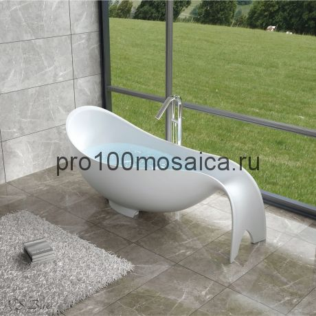 NSB-20850 Ванна из POLYSTONE (акриловый камень) размер,мм: 2050*850*850 (NS BATH)