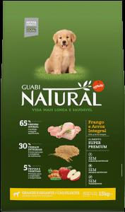 Guabi Natural для щенков крупных и гигантских пород 20 кг