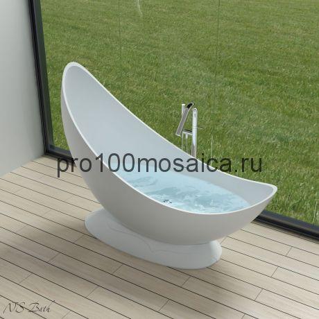 NSB-18725 Ванна из POLYSTONE (акриловый камень) размер,мм: 1800*725*1340 (NS BATH)