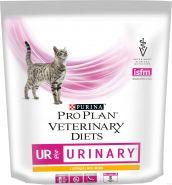 Pro Plan VD Feline UR Urinary (курица) - Диетический корм для кошек при мочекаменной болезни (350 г)