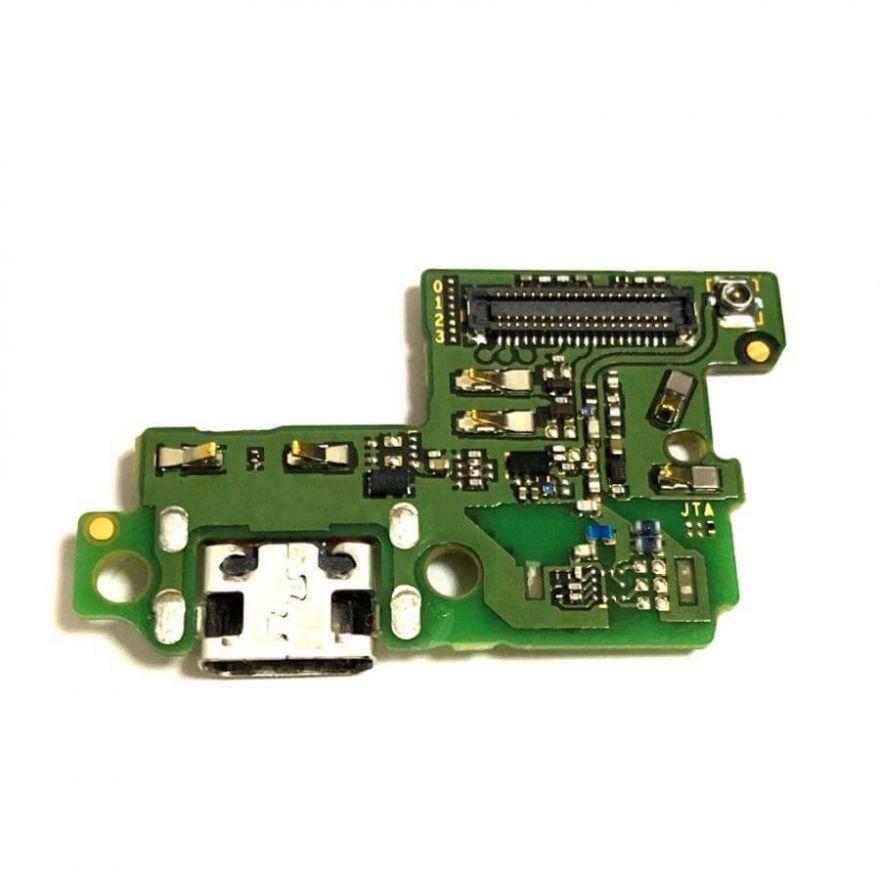 Нижняя плата с разъемом зарядки и микрофоном для Huawei P10 Lite (Original)