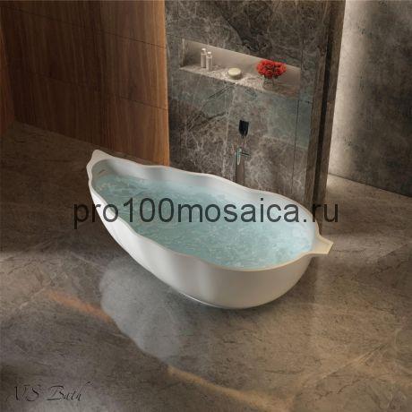 NSB-17850 Ванна из POLYSTONE (акриловый камень) размер,мм: 1775*850*600 (NS BATH)