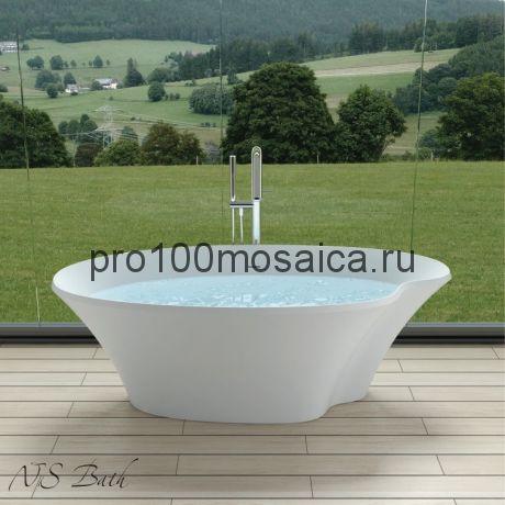 NSB-18903 Ванна из POLYSTONE (акриловый камень) размер,мм: 1800*900*600 (NS BATH)