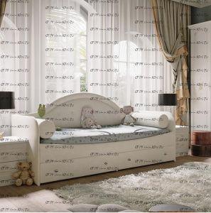 Кровать с мягкой спинкой Адель Тип 1 (80х200)