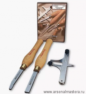 Набор резцов токарных Robert Sorby Thread Cutters для винтовой резьбы 16tpi М00014560