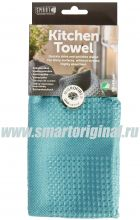 Smart Microfiber Полотенце кухонное Блеск 40 х 60 см бирюза