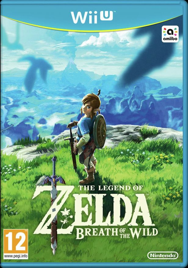 Игра The Legend of Zelda: Breath of the Wild (Nintendo WII U)