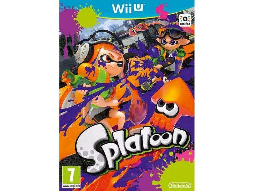 Игра Splatoon (Nintendo Wii U)