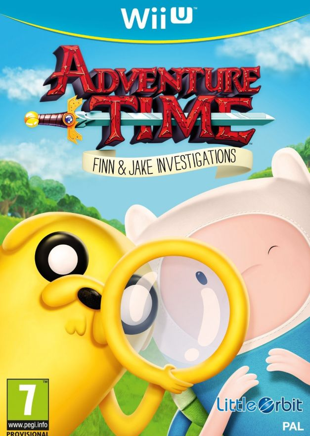 Игра Adventure Time Finn & Jake (Nintendo Wii U)
