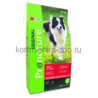 Pronature Original сухой корм для взрослых собак всех пород (с ягнёнком)
