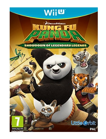 Игра Kung Fu Panda Showdown of Legendary Legends (Nintendo Wii U)