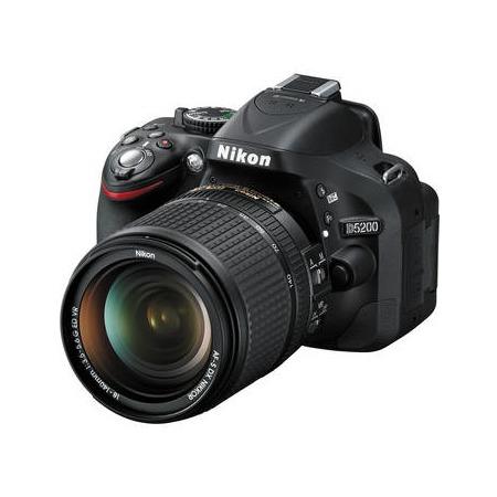 Nikon D5200 18-140mm VR