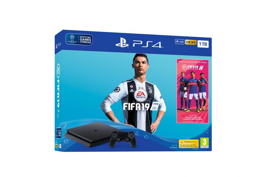 Sony Playstation Slim 1 TB CUH-2216B + FIFA19 (Русский Язык)
