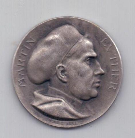 медаль 1917 года Мартин Лютер Германия