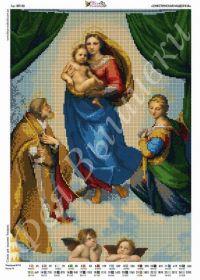 ВП-20. Сикстинская Мадонна. А3 (набор 1450 рублей) Фея Вышивки