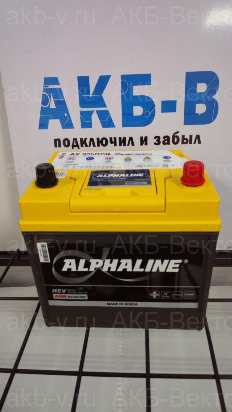 Alphaline AGM 50Ач 550А(CCA)