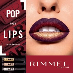 Rimmel London Lip Art Liquid Lipstick