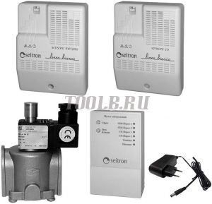 RGD-CH4+CO-DN25 - бытовой комплект на природный газ CH4, CO2