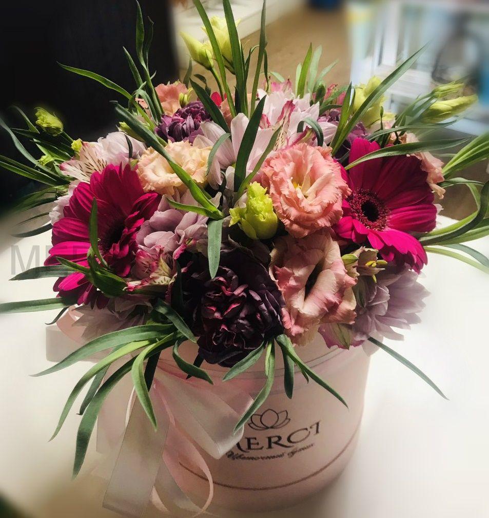 Коробка с цветами №7