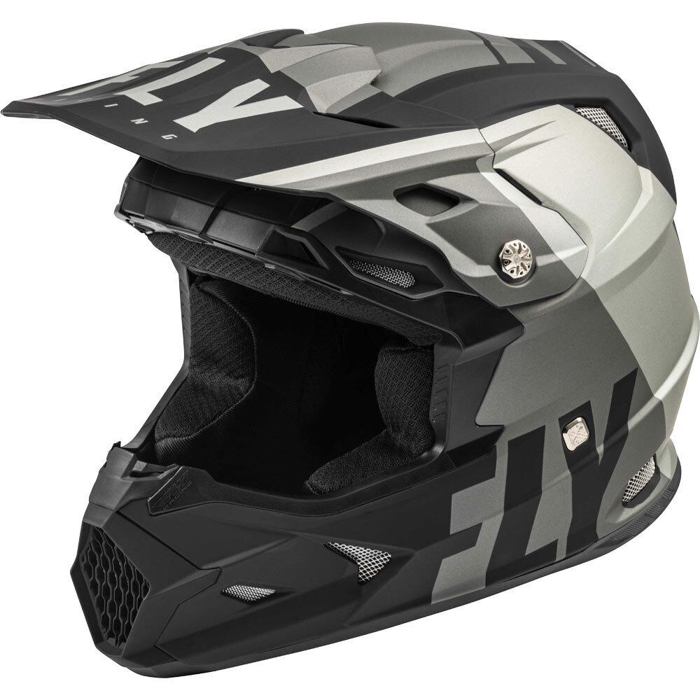 Fly Racing - 2020 Toxin Mips Transfer шлем, серо-черный матовый