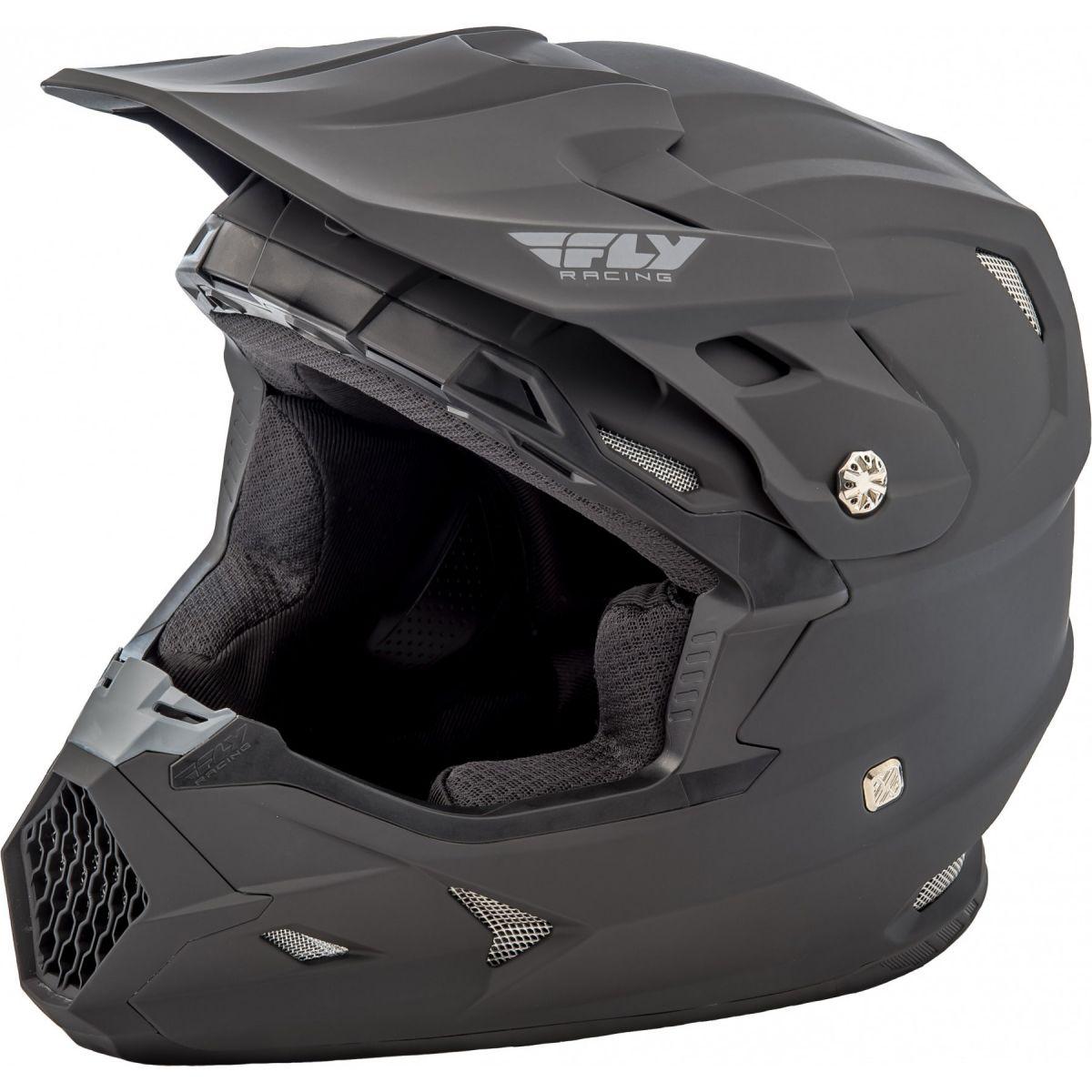 Fly Racing - 2020 Toxin Mips Solid шлем, черный матовый